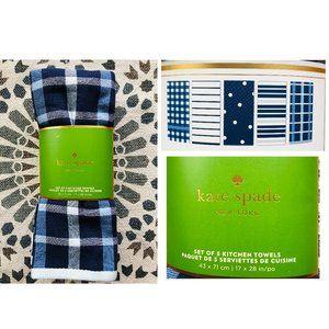 NWT Kate Spade Kitchen Tea Towels - 5 packs